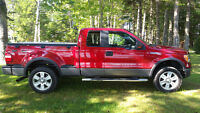 2009 Ford F-150 5.4L Extended cab fx4 flairside Pickup Truck