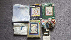 3 Counted Cross Stitch Kits