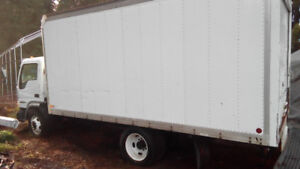 2008 Ford LCF diesel Cube box truck. Low mileage