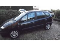 RENAULT SCENIC FIDJI 1.6L (2002) Year mot clean 5 door family car