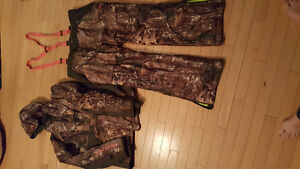 Under Armour Hunting Jacket and Bib style pants