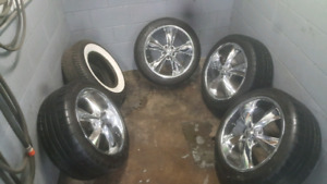 CAMERO 20 FOOSE WHEEL PACKAGE