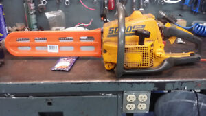 Two Partner 5000 Chain Saws.
