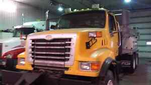 2003 Sterling truck with Plow/wing/Sander