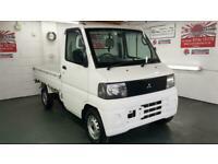 Mitsubishi mini pickup 650cc corrosion free drop sides only 8500 miles 2002