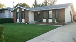House Red Deer, Includes Utilities, October 1st.