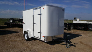 Brand new 2017 Cargo Express 6x10 single axle enclosed trailer