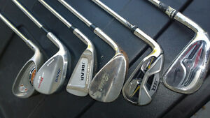 Nike, Mizuno, Wilson, Ping Assorted clubs for sale Left Handed