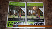 Family Discovery Pass for Parks Canada