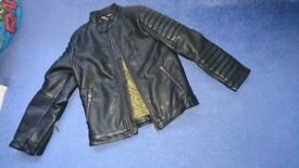 Boy's next leather jacket