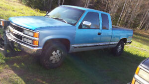 1994 GMC Sierra1500 with plow