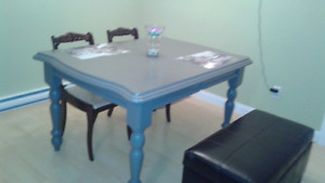 6-8 Seat Solid Wood Kitchen Table