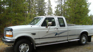 1997 Ford F-250 stripe diesel Pickup Truck