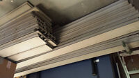 Grey composite decking for sale