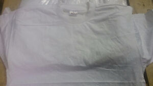 WHOLESALE LOT OF WHITE PLAIN T-SHIRTS -GREAT DEAL! Windsor Region Ontario image 3