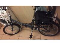 Raleigh Evo 7 folding bike