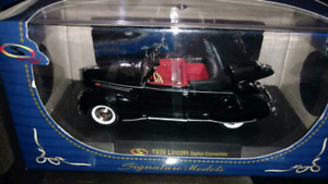 1939 Lincoln Zephyr Convertible 1/32 scale diecast model car
