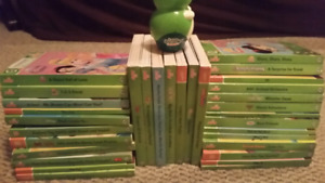 Huge Lot of 32 Leap Frog Tag Junior Books and Puppy Reader Pen