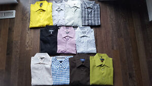 11 Mens Brand Name Dress Shirts - New and Perfect condition