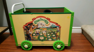 Vintage Cabbage Patch Kids cart