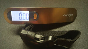 Spigen E500 Luggage Scale Digital Output with 110 lb Capacity an