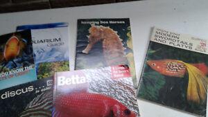 Aquarium books Kitchener / Waterloo Kitchener Area image 1