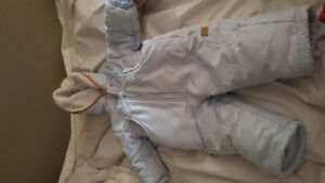 12 months baby snow suit