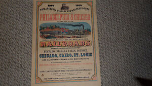 direct railroad communication between philadelphia and chicago