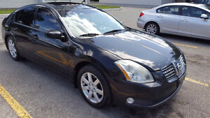2004 Nissan Maxima SL Sedan leather roof 2995.00 LAST CHANCE