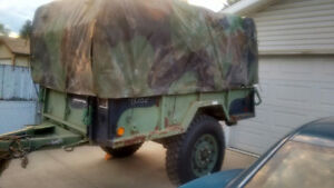 Heavy Duty Military Utility Trailer