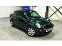 2002 51 Mini One 1.6 Petrol Manual Green