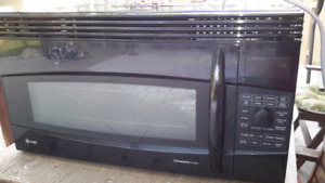 GE PROFLIE OVER THE RANGE CONVECTION MICROWAVE