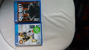 Nhl 15 et Call of duty black ops 3 a vendre