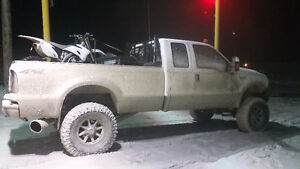Lifted 2001 ford f350 7.3, 6 speed
