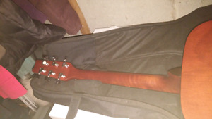 Traditions Acoustic Guitar and Soft Case