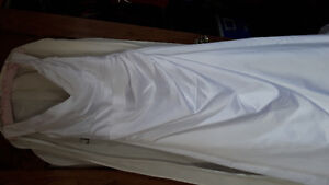 A-line Wedding dress with Corset Size 16 - unaltered