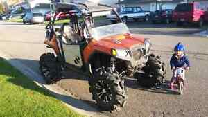2013 rzr 800 lifted great for hunting