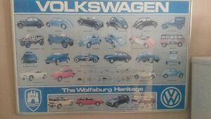 History of Volkswagen Poster Peterborough Peterborough Area image 1