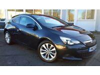 Vauxhall Astra GTC SRi 1.6 16v Turbo (black) 2012