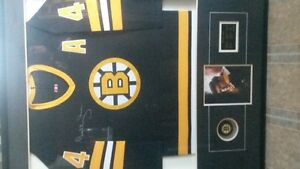 Bobby Orr autographed sweater