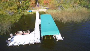 Floe Dock & 5,000lb Floe Boat Lift Package