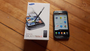 Samsung Note 2 phablet smartphone