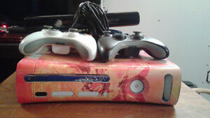 Xbox 360 + games and Kinect