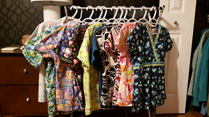 Small and xSmall scrub tops