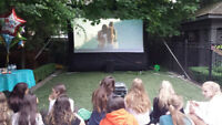 Outdoor movie company looking for event hosts
