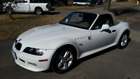 Mint California BMW Z3 with Shark fin - never seen salt