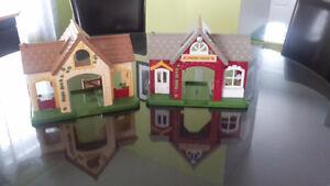 magnifique maison pour enfants,15$ pour les deux
