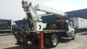 2008 International Truck - L60 Elliott Boom Truck