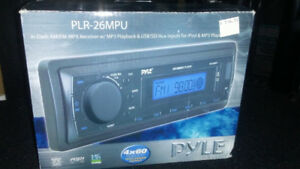 PYLE AM/FM RECEIVER WITH MORE FEATURES