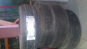 4 pneus neufs yokohama avis t4 185/65/14